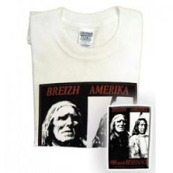 Tee Shirt Breton, BREIZH AMERIKA
