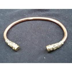 Bracelet torque cuivre