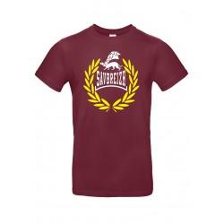 Tee-shirt bordeaux laurier Savbreizh