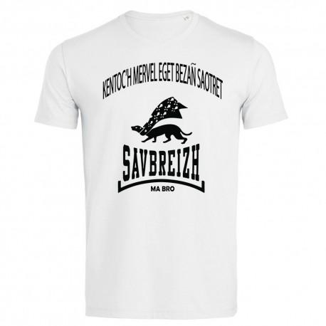 Tee-shirt Savbreizh devise en Breton