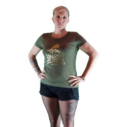 Tee shirt noir Savbreizh doré