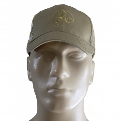 Casquette diamonds marron