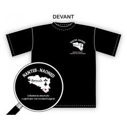 tee-shirt nantes naoned Nantes/Naoned capitale de la bretagne / kêrbenn Breizh