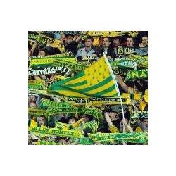 Melen-ha-Gwer drapeu des supporters du fc Nantes